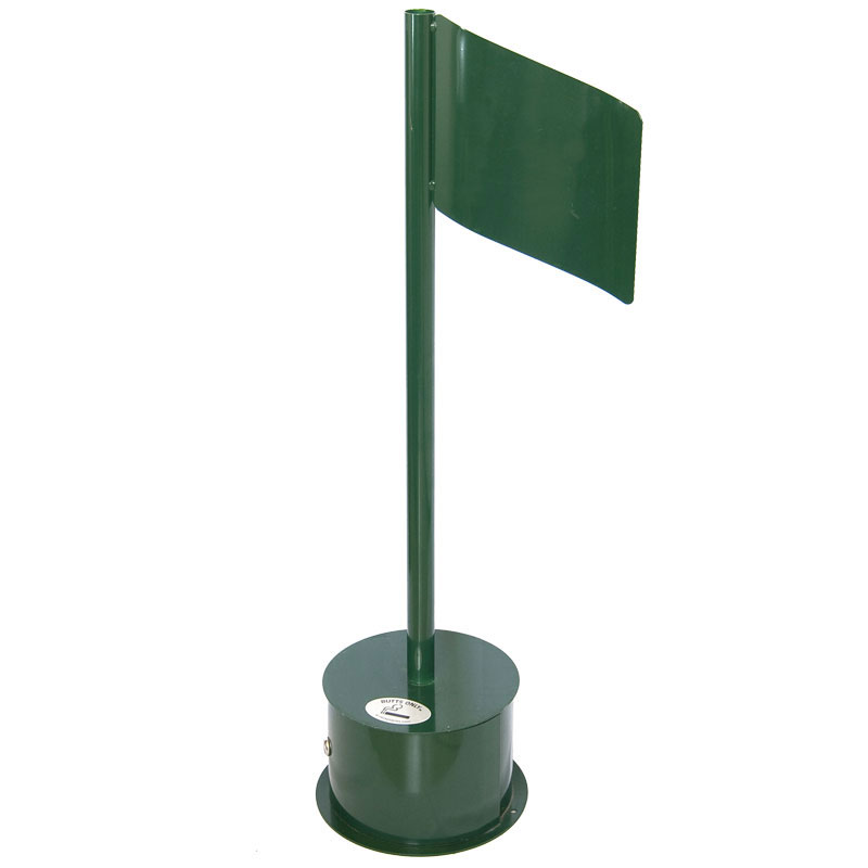 Green Golf Flag Outdoor Smoking Urn