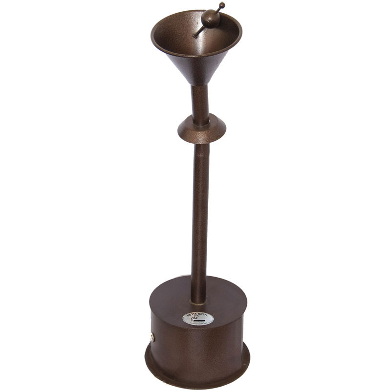 Martini Glass Outdoor Smoking Urn