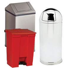 Fire Resistant Receptacles by Rubbermaid Commercial