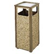 United Receptacle Aspen Outdoor Sand Urn Litter Receptacle - 12-Gallon UNIR12SU201PL