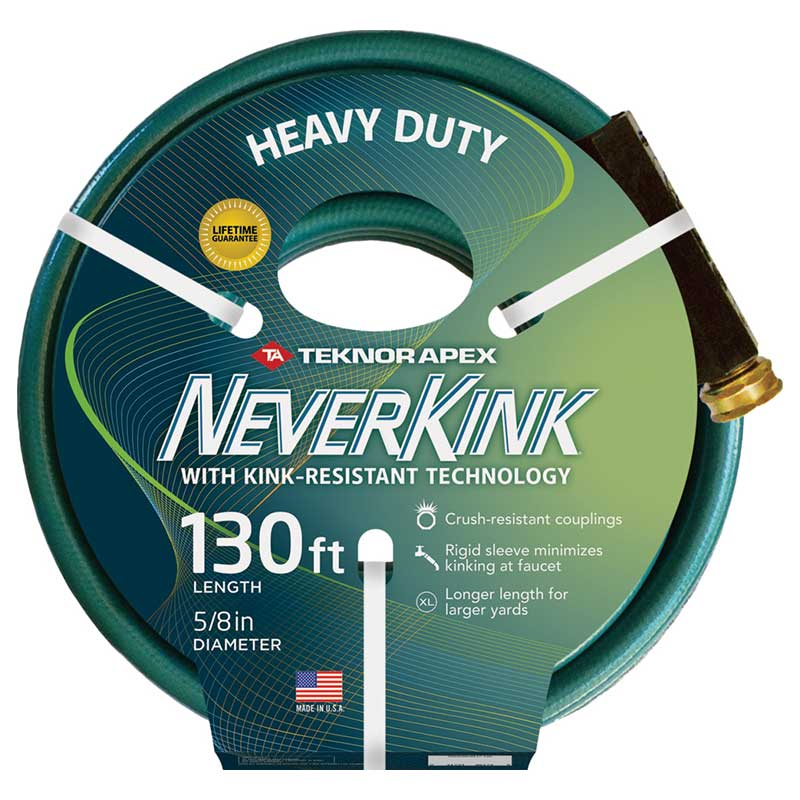 130 ft. Neverkink Heavy-Duty Garden Hose