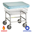 Commercial Metal Laundry Basket Antimicrobial Liners & Laundry Basket Antimicrobial Covers (Flame Retardant) - Laundry, Healthcare & Hospitality Logistics