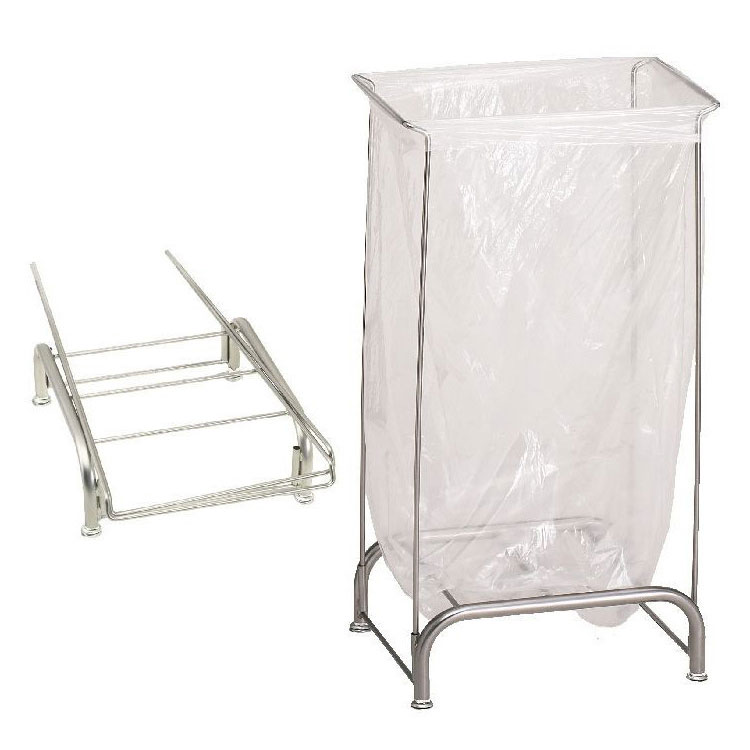 R&B Wire Stationary Collapsible Tension Frame Hamper