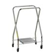 "R&B Wire [655] Fixed Collapsible Laundry Hamper Frame - 20"" x 22"" x 37"" - Chrome RB-655"