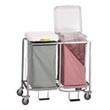 Commercial & Hospital Easy Access Deluxe Heavy Duty Tubular Steel Hampers & Linen Hampers - Laundry, Healthcare & Hospitality Logistics