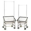 Commercial Front Loading Metal Laundry Carts, Linen Carts, Wire Metal Frame Laundry Carts - Laundry, Healthcare & Hospitality Logistics