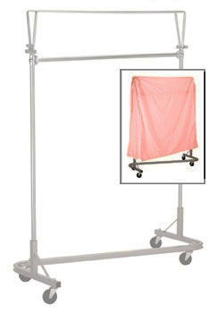 R&B Wire Stack Rack Nylon Cover & Frame - Mauve