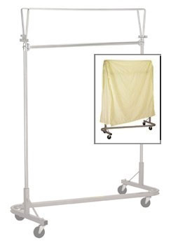 R&B Wire Stacking Garment Rack Nylon Cover - Yellow