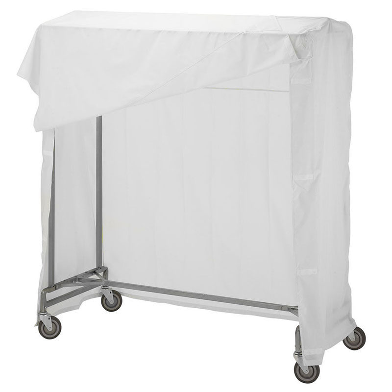 R&B Wire 741 Garment Rack Nylon Cover & Frame - White