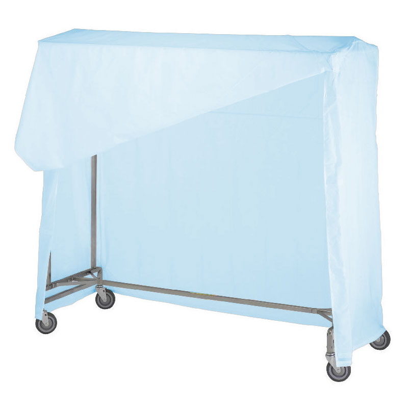 R&B Wire [751] Portable Garment Rack Nylon Cover & Frame - Blue