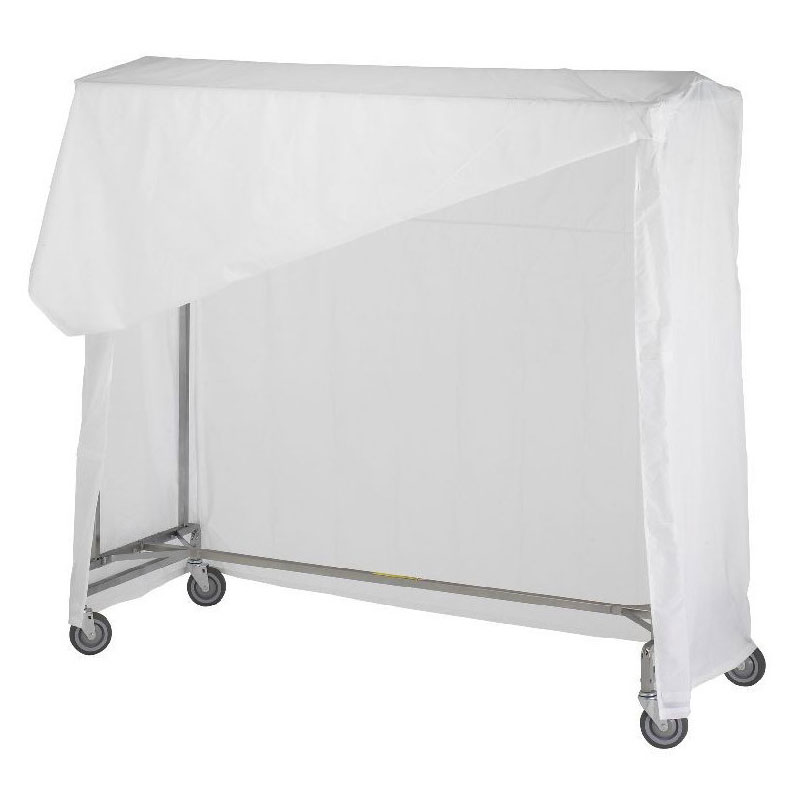 R&B Wire [751] Portable Garment Rack Nylon Cover & Frame - White