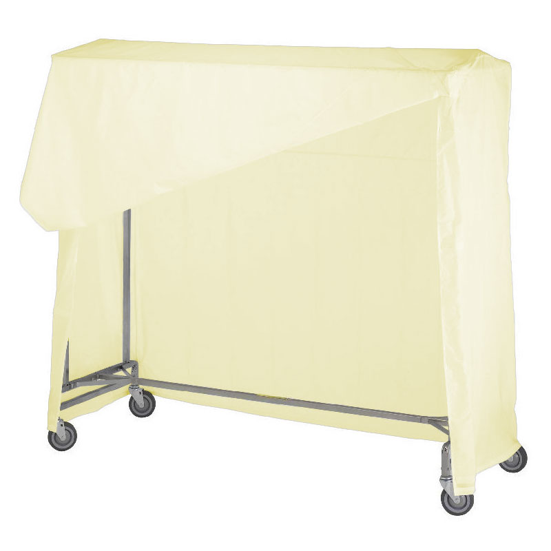 R&B Wire [751] Portable Garment Rack Nylon Cover & Frame - Yellow
