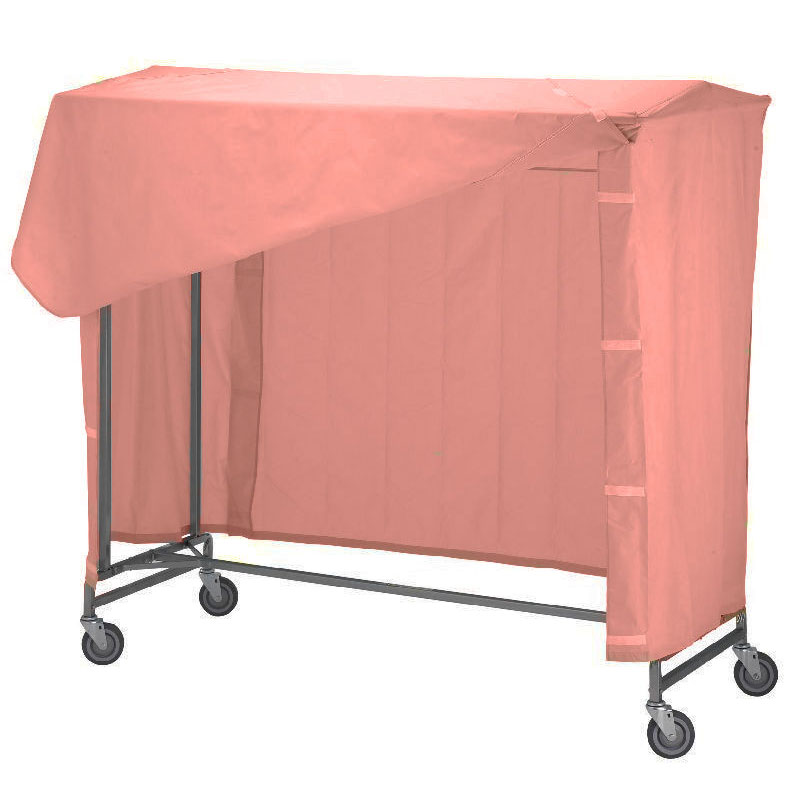 R&B Wire 752 Portable Garment Rack Nylon Cover & Frame - Mauve