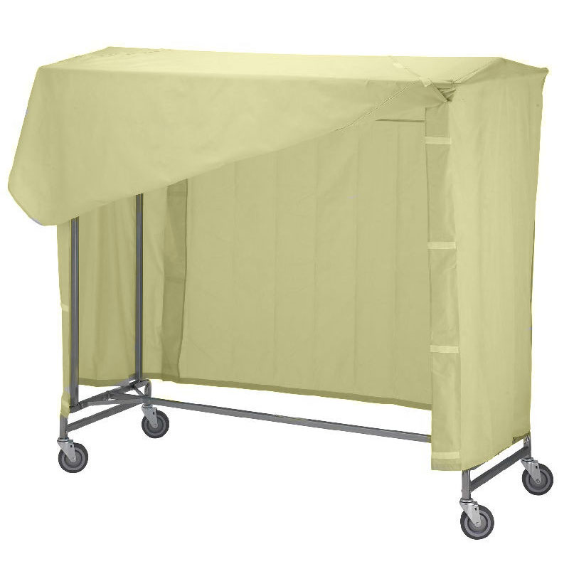R&B Wire 752 Portable Garment Rack Nylon Cover & Frame - Yellow