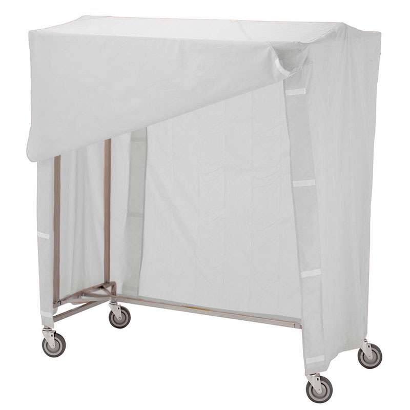 R&B Wire Portable Garment Rack Combo - White