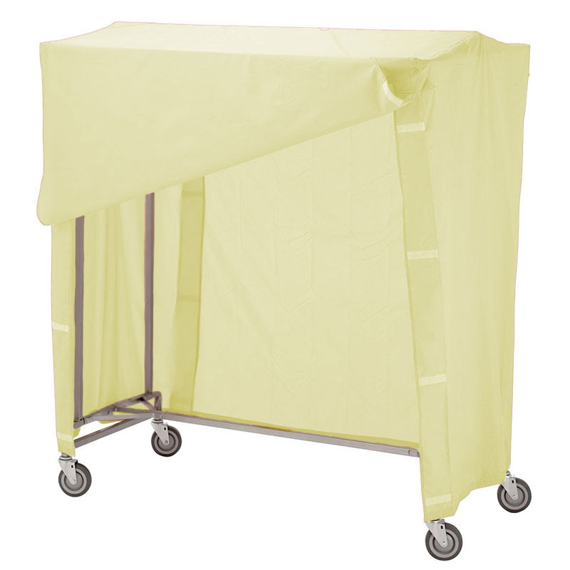 R&B Wire Portable Garment Rack Combo - Yellow