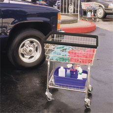 Car Wash Towel Carts