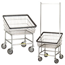 Front Loading Laundry Carts