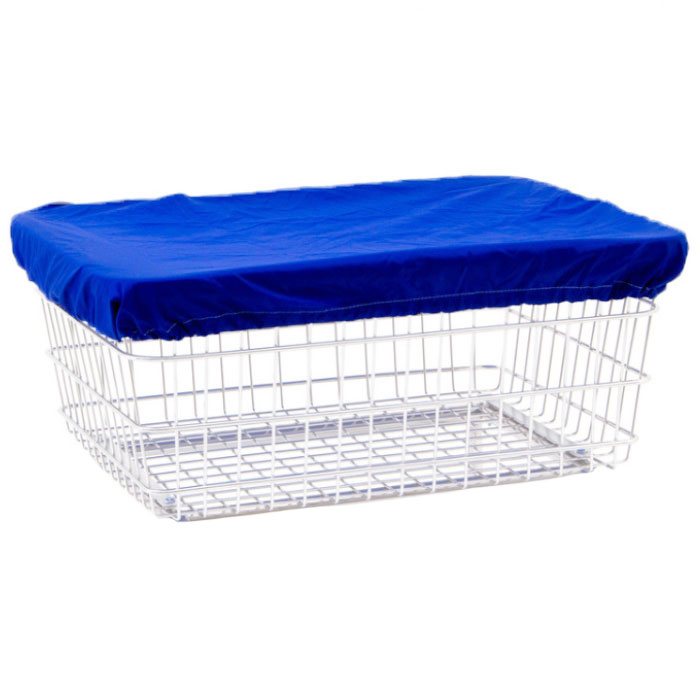 Dark Blue Nylon Basket Cover Cap