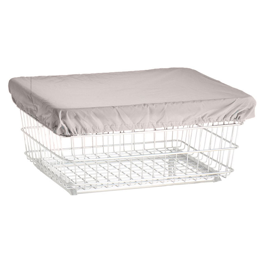 R&B Wire Laundry Cart Nylon Cover Cap - White