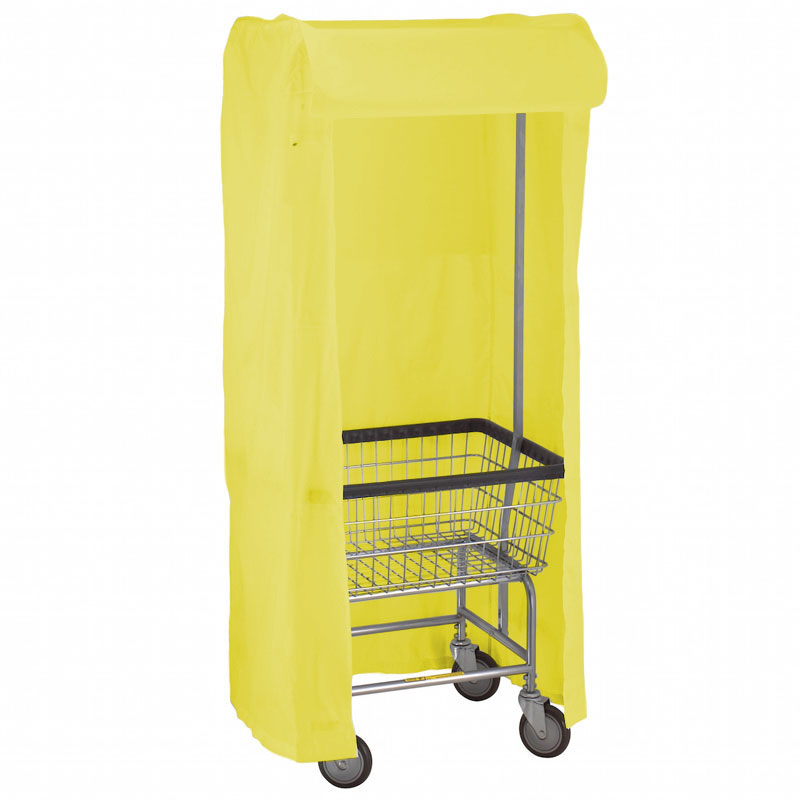 100E58 Bright Yellow Support Frame Laundry Cart Cover