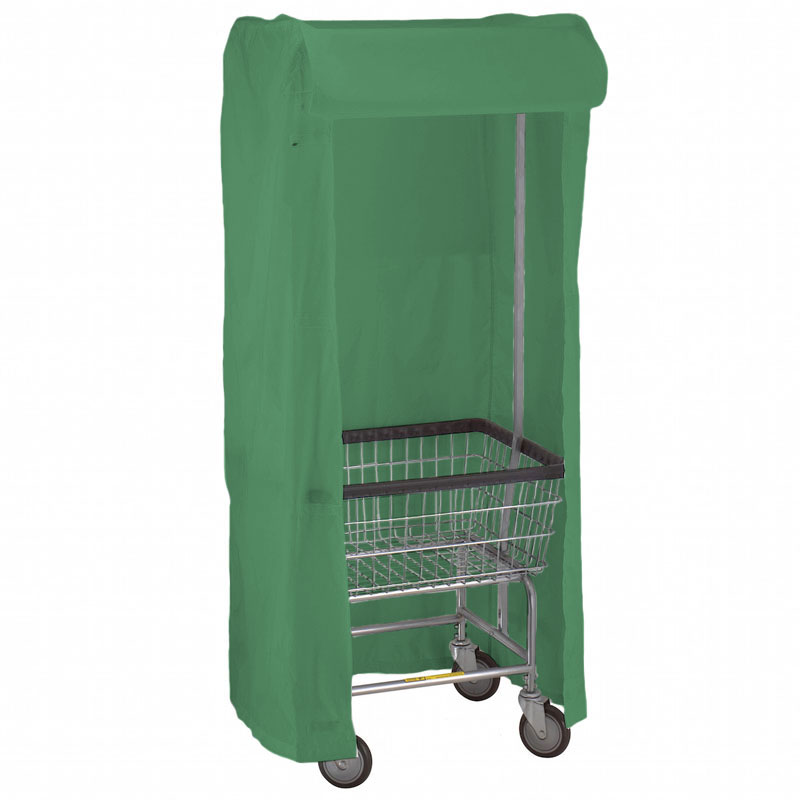 100E58 Green Support Frame Laundry Cart Cover