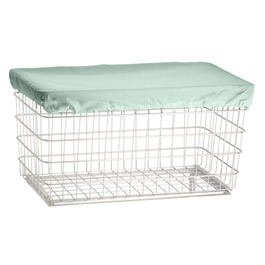 R&B Wire Laundry Cart Antimicrobial Cover Cap - Green