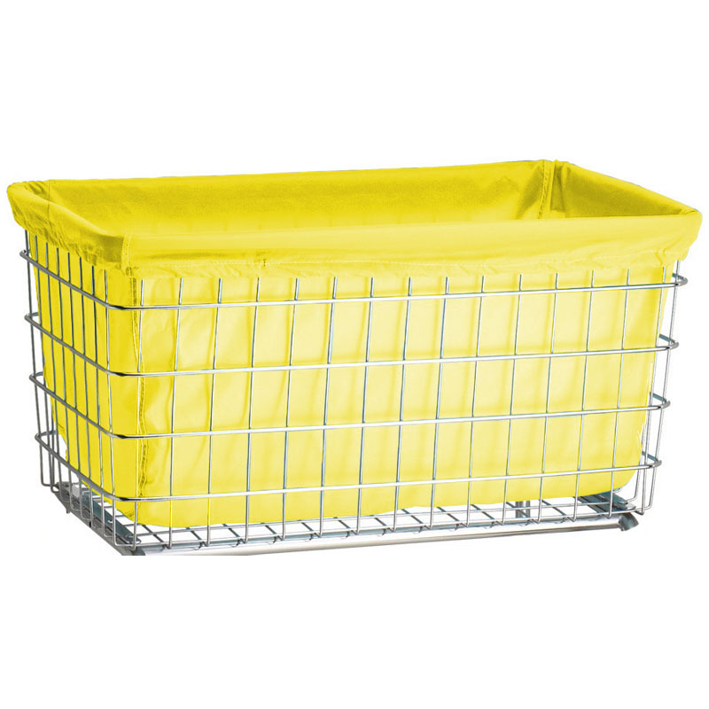 Bright Yellow Nylon Laundry Cart Liner - F Baskets