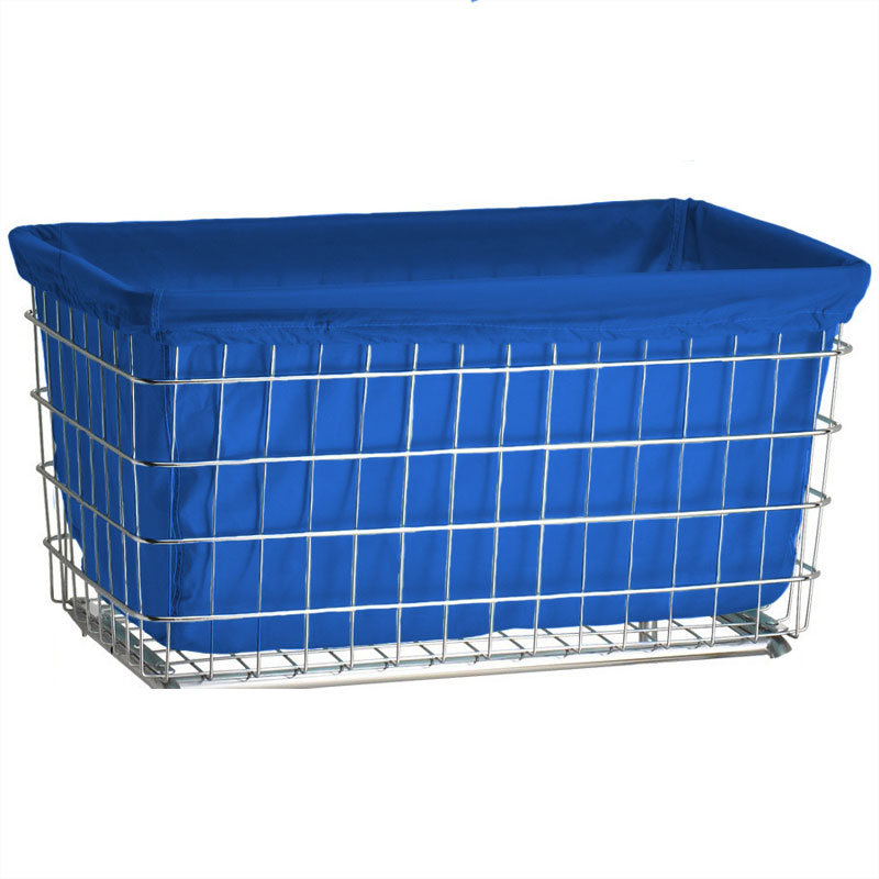 Dark Blue Nylon Laundry Cart Liner - F Baskets