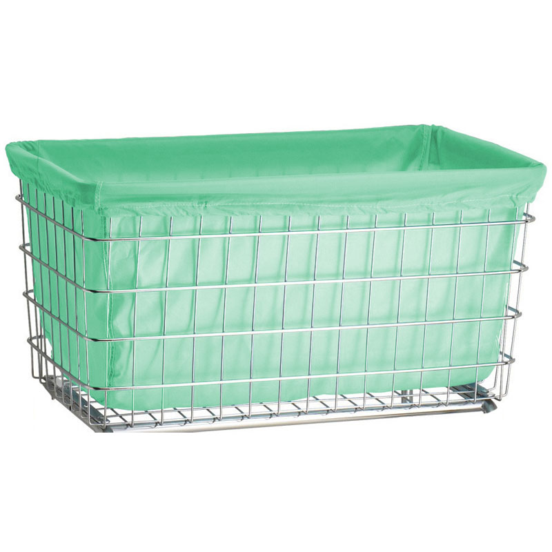 Gray Green Nylon Laundry Cart Liner - F Baskets