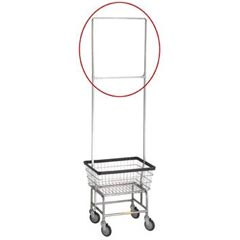 R&B Wire [909] Metal Laundry Cart One Piece Rack Extender