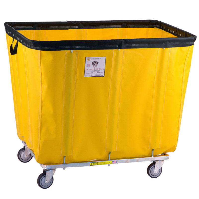 R&B Wire Antimicrobial Vinyl Bushel Permanent Liner Basket Trucks