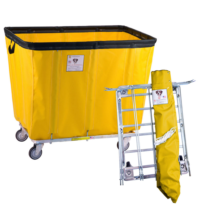 RB Wire Anti-Microbial Bushel Basket Truck
