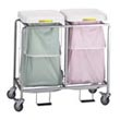 Commercial & Hospital Leakproof Deluxe Heavy Duty Tubular Steel Hampers & Linen Hampers - Laundry, Healthcare & Hospitality Logistics