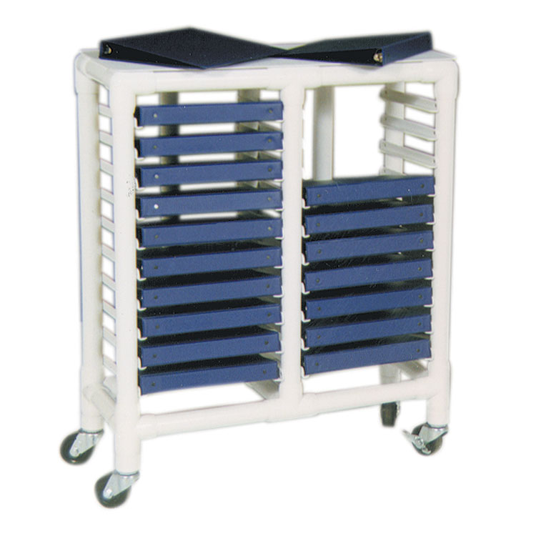 Health Care Pvc Pipe Frame Patient Chart Rack - Unoclean