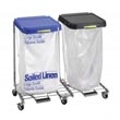 R&B Wire [694] Double Medium Duty Metal Laundry Hamper w/ Foot Pedal RB-694