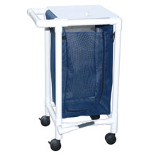 200 Series PVC Frame Single Laundry Hamper - 14 Gallon