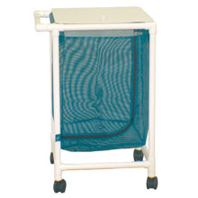 200 Series PVC Plastic Frame Single Laundry Hamper - Leak Proof Bag