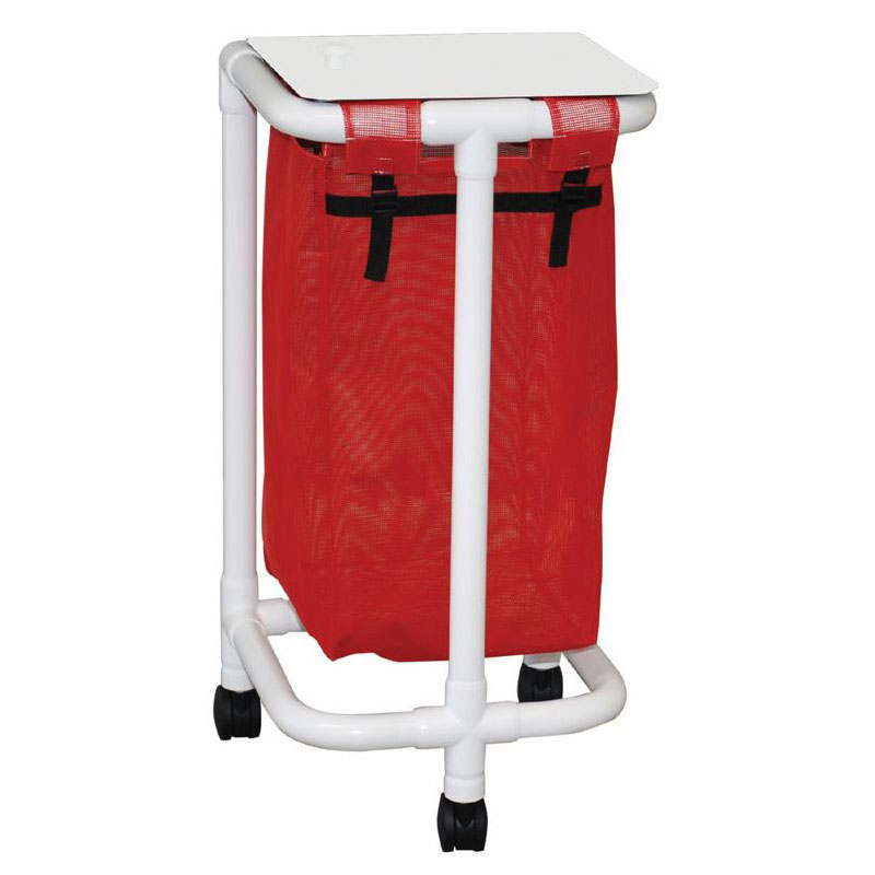 Echo Series PVC Plastic Frame Single Laundry Hamper - 15 Gal.