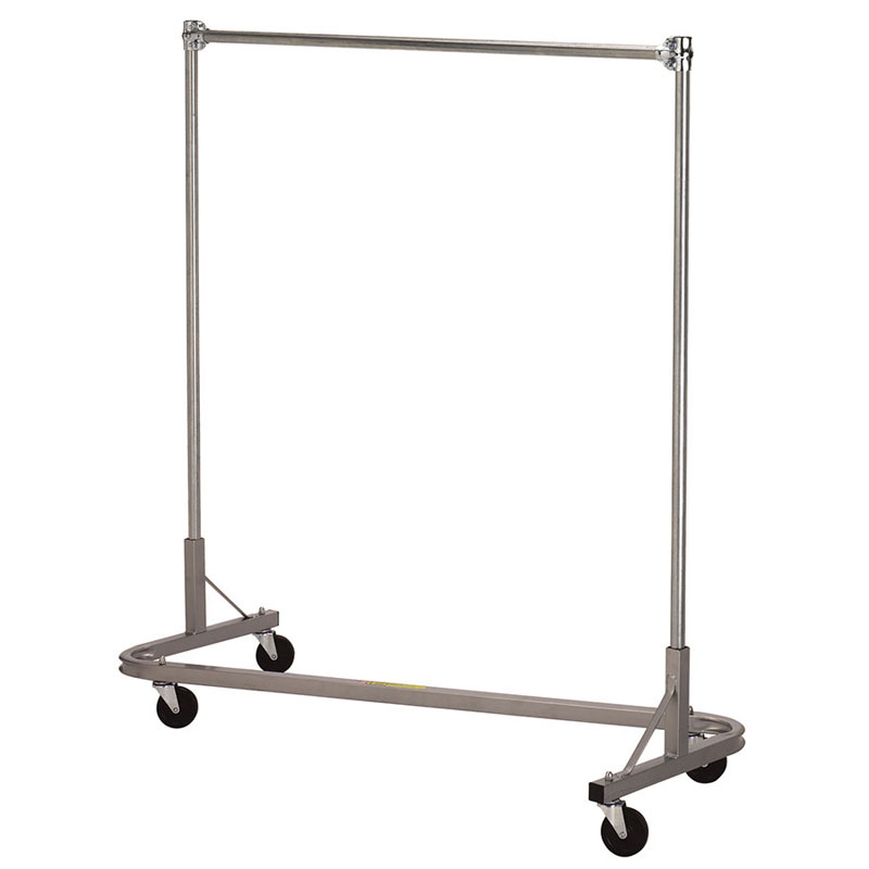 R&B Wire Portable Single Bar Stackable Garment Rack - 60
