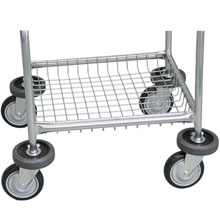R&B Wire Metal Laundry Cart Base Bumper Kit