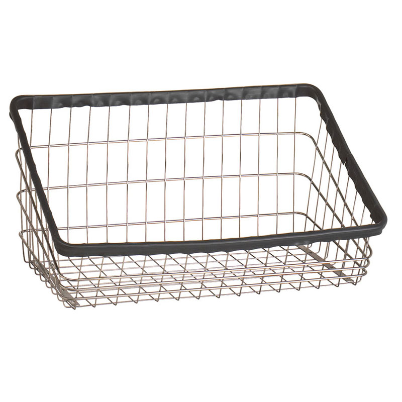 R&B Wire S Replacement Front Loading Laundry Cart Basket - 3 3/4 Bushel
