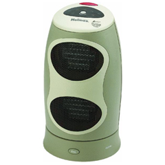 Twin Vertical Ceramic Tower Space Heater