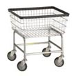 Commercial Standard-Duty Metal Laundry Carts, Linen Carts, Wire Frame Metal Laundry Carts - Laundry, Healthcare & Hospitality Logistics