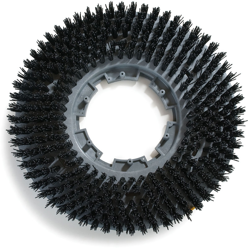 Carlisle 3613VBK Value Rotary Stripping Brush - Black - 13