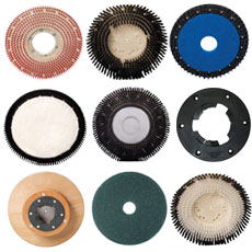 Brushes, Pads, Drivers & Clutch Plates