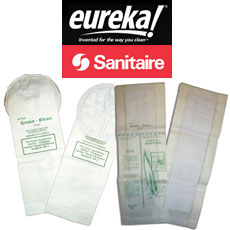 Eureka - Sanitaire Filters & Bags by Green Klean