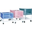 MJM International Laundry Cart Basket Liners, Nylon, Vinyl & Mesh Basket Liners