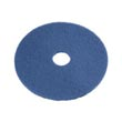 "Mastercraft Floor Machine Cleaning & Scrubbing Pad - 6 1/2"" - Blue MC-257907-E"