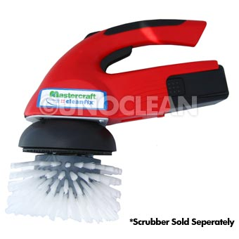 Mastercraft [254274] Cleanfix Scrubby 2-in-1 Scrubber High Profile Nylon Scrub Brush - 6""